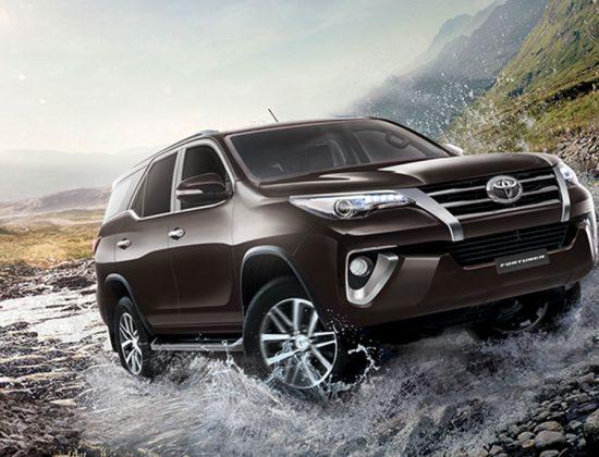 Toyota 4WD Vehicles