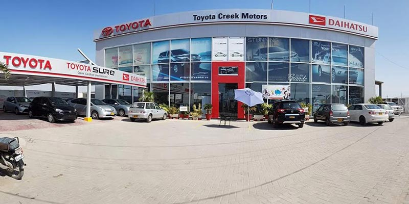 Press Release - Toyota Creek Motors Showroom