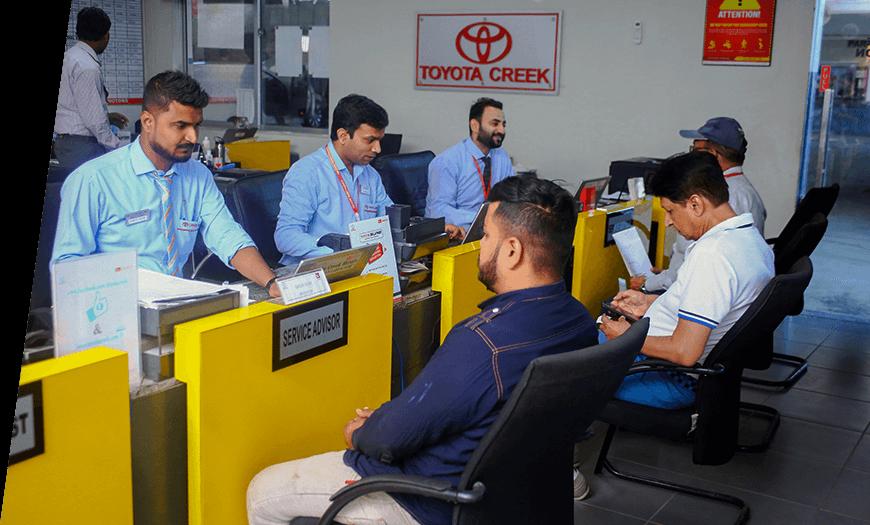 Toyota Creek Motors Customer Relation Team