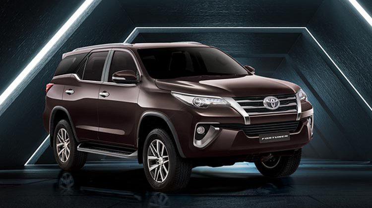 New Toyota Fortuner in Phantom Brown