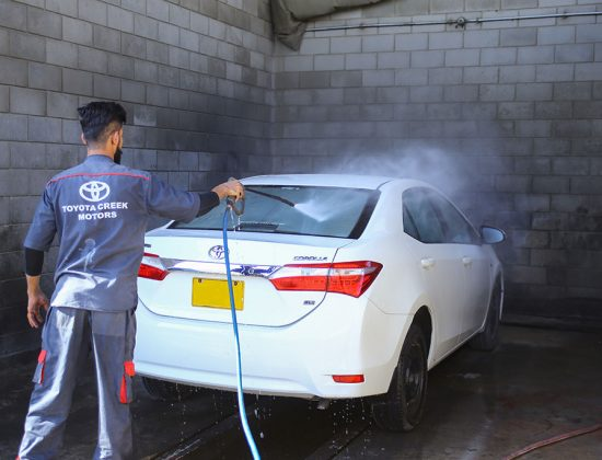 Get Your Car Cleaned with Toyota Creek Motors Sales and Service Centre