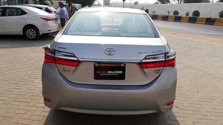 Toyota Sure Certified Corolla Altis