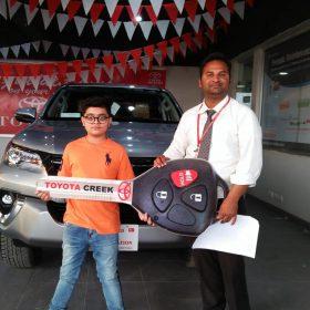 Toyota Creek Motors Happy Customer