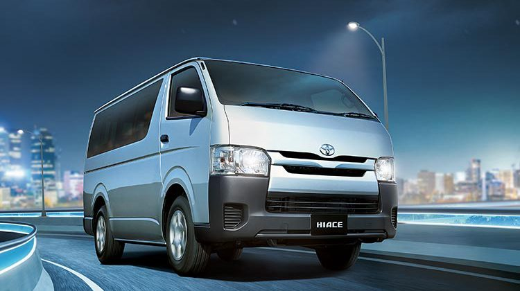 ALL NEW TOYOTA HIACE DELUXE