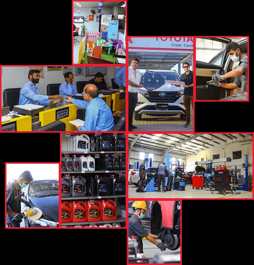 Toyota Creek Motors Different Services Images