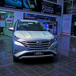 New Toyota Rush A/T at Toyota Creek Showroom