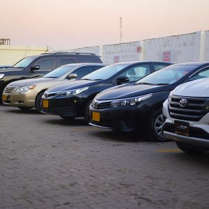 Different Toyota Vehicles