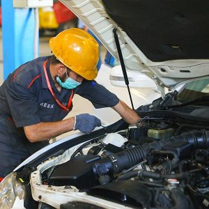 Car Inspection by Service Centre Representative