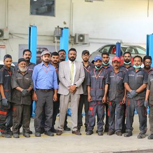 Toyota Creek Motors Service Centre team members