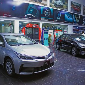 Toyota Creek Motors Showroom image