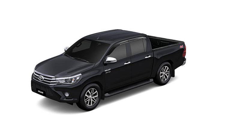 Brand New Toyota Hilux Revo in Black