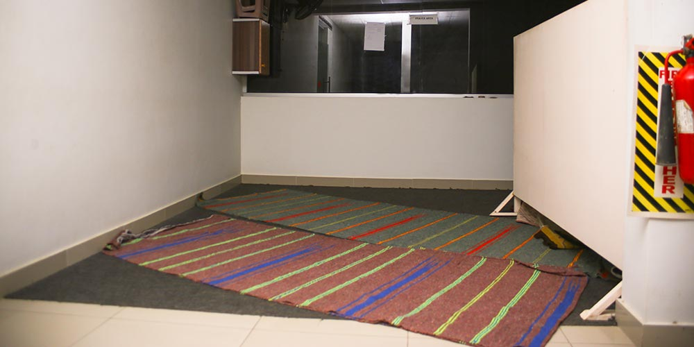 Prayers Room at Toyota Creek Motors Showroom