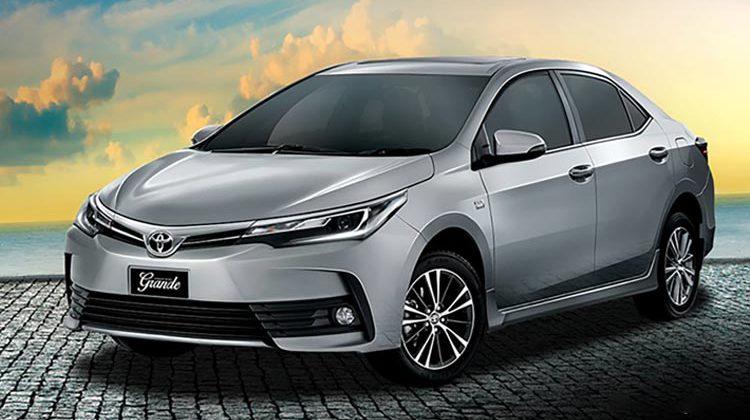 New Toyota Corolla Grande