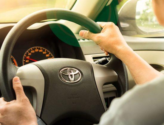 Toyota Steering Wheel