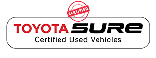 Toyota Sure Certified Logo