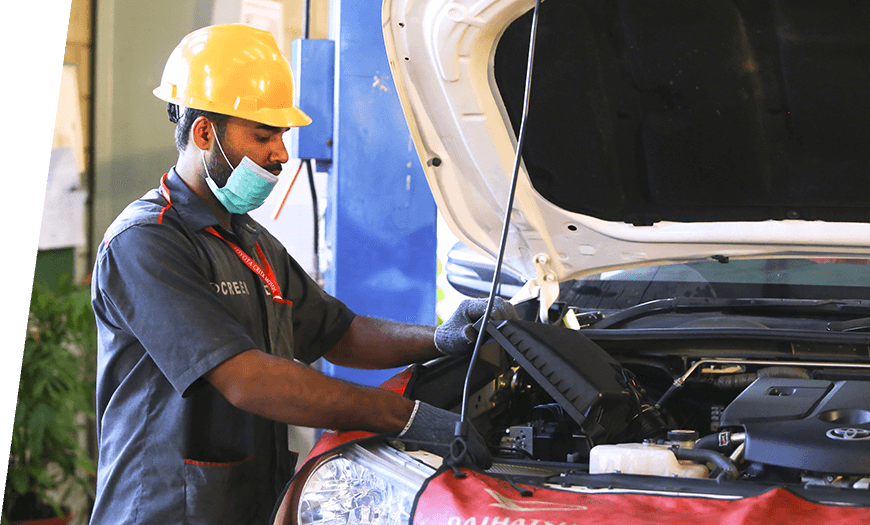 Vehicle Inspection - First Free Service
