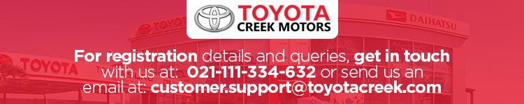 Toyota Creek Motors Contact Details Banner