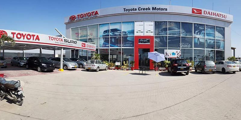 Reasons Why Toyota Creek Motors is the Best Authorized Toyota Dealer in Karachi