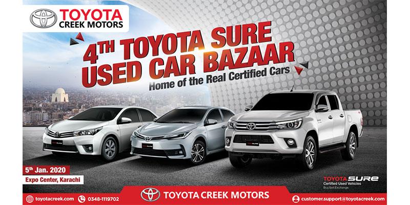 Toyota Creek Motors Participates At The 4th Toyota Sure Bazaar