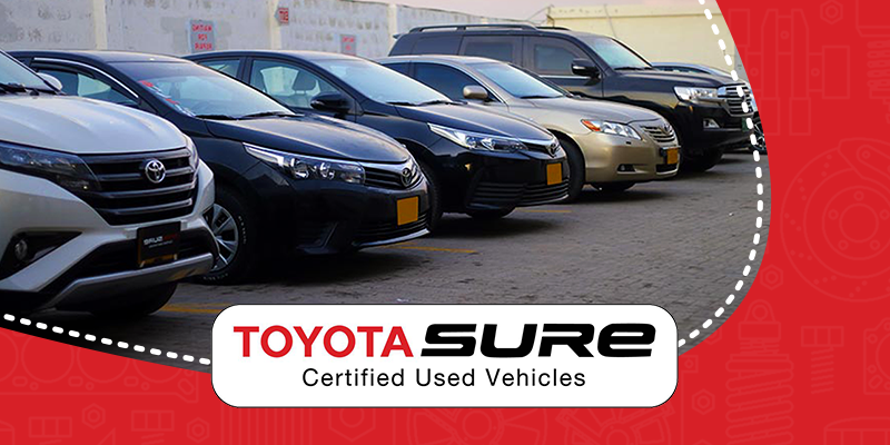 Purchase a Toyota Sure Certified Car