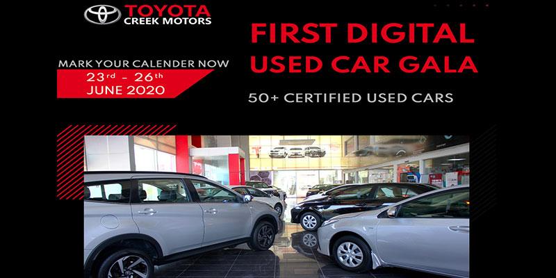 First Digital Pre used Vehicle
